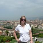 Gabi über Florenz