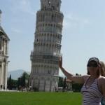 Gabi hält den Turm fest...